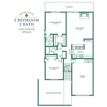 Floorplan of Pisgah Valley, Assisted Living, Nursing Home, Independent Living, CCRC, Candler, NC 8