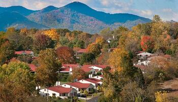 Campus Map of Pisgah Valley, Assisted Living, Nursing Home, Independent Living, CCRC, Candler, NC 1