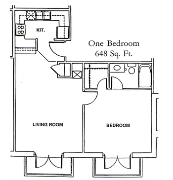 Floorplan of Windsor Point, Assisted Living, Nursing Home, Independent Living, CCRC, Fuquay Varina, NC 1
