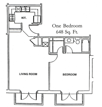 Floorplan of Windsor Point, Assisted Living, Nursing Home, Independent Living, CCRC, Fuquay Varina, NC 2