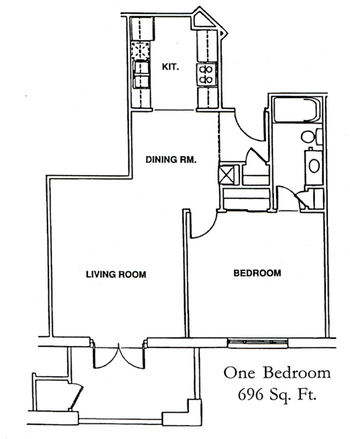 Floorplan of Windsor Point, Assisted Living, Nursing Home, Independent Living, CCRC, Fuquay Varina, NC 3