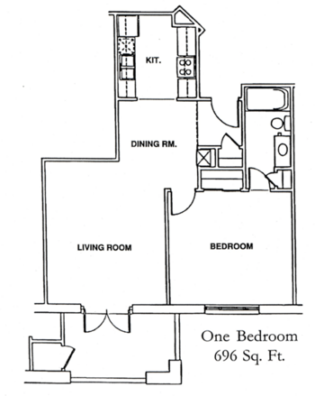 Floorplan of Windsor Point, Assisted Living, Nursing Home, Independent Living, CCRC, Fuquay Varina, NC 4