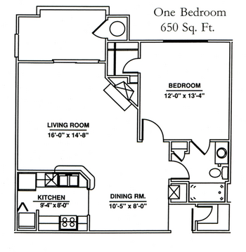 Floorplan of Windsor Point, Assisted Living, Nursing Home, Independent Living, CCRC, Fuquay Varina, NC 5