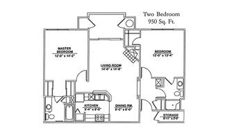 Floorplan of Windsor Point, Assisted Living, Nursing Home, Independent Living, CCRC, Fuquay Varina, NC 7