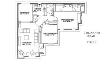 Floorplan of Windsor Point, Assisted Living, Nursing Home, Independent Living, CCRC, Fuquay Varina, NC 9