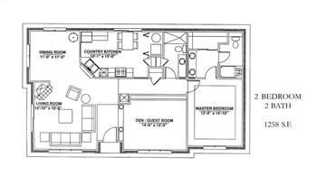 Floorplan of Windsor Point, Assisted Living, Nursing Home, Independent Living, CCRC, Fuquay Varina, NC 10