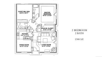 Floorplan of Windsor Point, Assisted Living, Nursing Home, Independent Living, CCRC, Fuquay Varina, NC 11