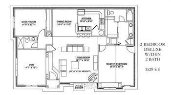 Floorplan of Windsor Point, Assisted Living, Nursing Home, Independent Living, CCRC, Fuquay Varina, NC 14