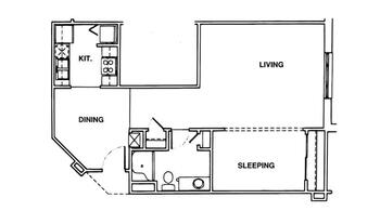 Floorplan of Windsor Point, Assisted Living, Nursing Home, Independent Living, CCRC, Fuquay Varina, NC 15