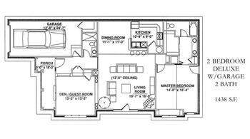 Floorplan of Windsor Point, Assisted Living, Nursing Home, Independent Living, CCRC, Fuquay Varina, NC 16