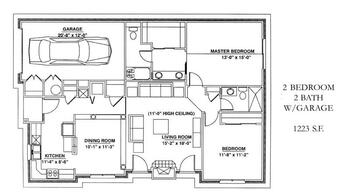 Floorplan of Windsor Point, Assisted Living, Nursing Home, Independent Living, CCRC, Fuquay Varina, NC 17