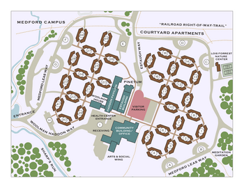Campus Map of Medford Leas, Assisted Living, Nursing Home, Independent Living, CCRC, Medford, NJ 4