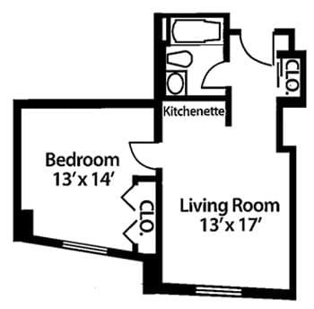 Floorplan of McKendree Village, Assisted Living, Nursing Home, Independent Living, CCRC, Hermitage, TN 1