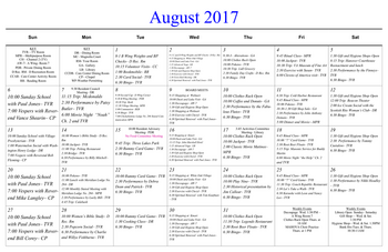 Activity Calendar of Masonic Home of Virginia, Assisted Living, Nursing Home, Independent Living, CCRC, Richmond, VA 2
