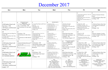 Activity Calendar of Masonic Home of Virginia, Assisted Living, Nursing Home, Independent Living, CCRC, Richmond, VA 3