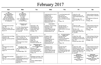 Activity Calendar of Masonic Home of Virginia, Assisted Living, Nursing Home, Independent Living, CCRC, Richmond, VA 4