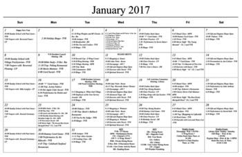 Activity Calendar of Masonic Home of Virginia, Assisted Living, Nursing Home, Independent Living, CCRC, Richmond, VA 5