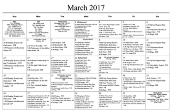 Activity Calendar of Masonic Home of Virginia, Assisted Living, Nursing Home, Independent Living, CCRC, Richmond, VA 8