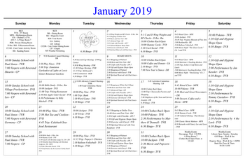 Activity Calendar of Masonic Home of Virginia, Assisted Living, Nursing Home, Independent Living, CCRC, Richmond, VA 9