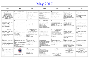 Activity Calendar of Masonic Home of Virginia, Assisted Living, Nursing Home, Independent Living, CCRC, Richmond, VA 10