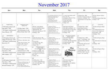 Activity Calendar of Masonic Home of Virginia, Assisted Living, Nursing Home, Independent Living, CCRC, Richmond, VA 11
