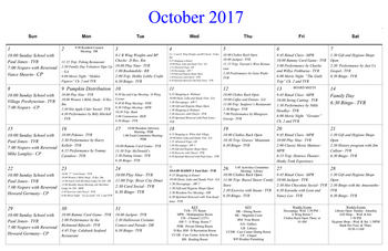 Activity Calendar of Masonic Home of Virginia, Assisted Living, Nursing Home, Independent Living, CCRC, Richmond, VA 13
