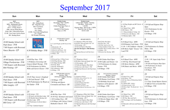 Activity Calendar of Masonic Home of Virginia, Assisted Living, Nursing Home, Independent Living, CCRC, Richmond, VA 14