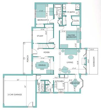 Floorplan of Rappahannock Westminster Canterbury, Assisted Living, Nursing Home, Independent Living, CCRC, Irvington, VA 2