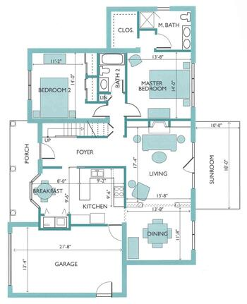 Floorplan of Rappahannock Westminster Canterbury, Assisted Living, Nursing Home, Independent Living, CCRC, Irvington, VA 6