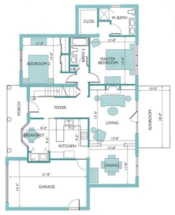 Floorplan of Rappahannock Westminster Canterbury, Assisted Living, Nursing Home, Independent Living, CCRC, Irvington, VA 5