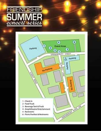 Campus Map of Friendship, Assisted Living, Nursing Home, Independent Living, CCRC, Roanoke, VA 1