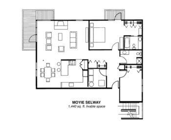 Floorplan of Riverview Retirement Community, Assisted Living, Nursing Home, Independent Living, CCRC, Spokane, WA 1