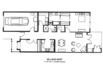 Floorplan of Riverview Retirement Community, Assisted Living, Nursing Home, Independent Living, CCRC, Spokane, WA 9