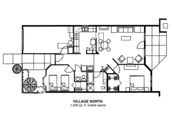 Floorplan of Riverview Retirement Community, Assisted Living, Nursing Home, Independent Living, CCRC, Spokane, WA 10
