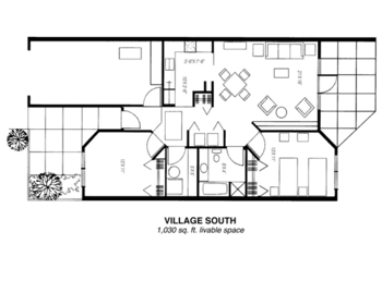 Floorplan of Riverview Retirement Community, Assisted Living, Nursing Home, Independent Living, CCRC, Spokane, WA 11