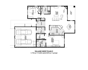 Floorplan of Riverview Retirement Community, Assisted Living, Nursing Home, Independent Living, CCRC, Spokane, WA 13