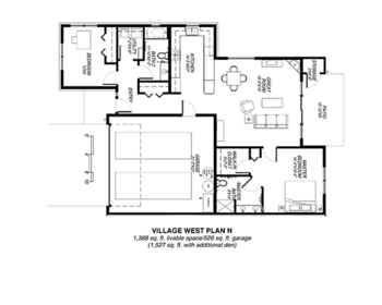 Floorplan of Riverview Retirement Community, Assisted Living, Nursing Home, Independent Living, CCRC, Spokane, WA 14