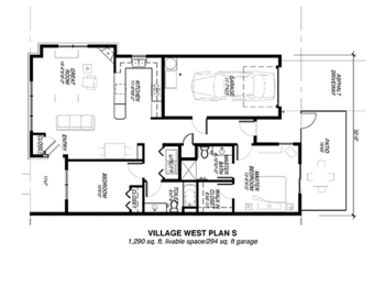 Floorplan of Riverview Retirement Community, Assisted Living, Nursing Home, Independent Living, CCRC, Spokane, WA 15
