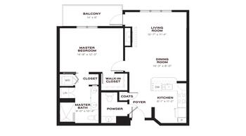 Floorplan of Emerald Heights, Assisted Living, Nursing Home, Independent Living, CCRC, Redmond, WA 2