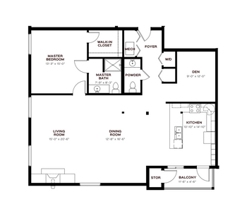 Floorplan of Emerald Heights, Assisted Living, Nursing Home, Independent Living, CCRC, Redmond, WA 4