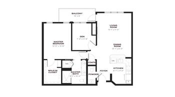 Floorplan of Emerald Heights, Assisted Living, Nursing Home, Independent Living, CCRC, Redmond, WA 5