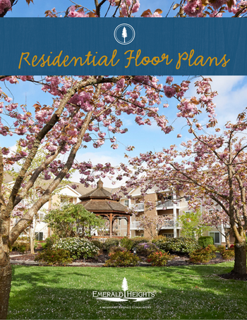 Floorplan of Emerald Heights, Assisted Living, Nursing Home, Independent Living, CCRC, Redmond, WA 9