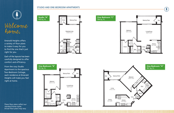 Floorplan of Emerald Heights, Assisted Living, Nursing Home, Independent Living, CCRC, Redmond, WA 10