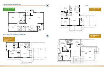 Floorplan of Emerald Heights, Assisted Living, Nursing Home, Independent Living, CCRC, Redmond, WA 14