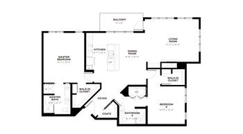 Floorplan of Emerald Heights, Assisted Living, Nursing Home, Independent Living, CCRC, Redmond, WA 20