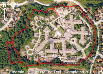 Campus Map of Emerald Heights, Assisted Living, Nursing Home, Independent Living, CCRC, Redmond, WA 1