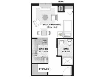 Floorplan of Augustana Chapel View Campus, Assisted Living, Nursing Home, Independent Living, CCRC, Hopkins, MN 1