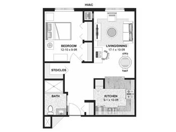 Floorplan of Augustana Chapel View Campus, Assisted Living, Nursing Home, Independent Living, CCRC, Hopkins, MN 3
