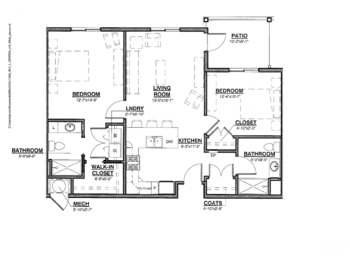 Floorplan of Nazareth Living Center, Assisted Living, Nursing Home, Independent Living, CCRC, St. Louis, MO 3