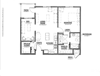 Floorplan of Nazareth Living Center, Assisted Living, Nursing Home, Independent Living, CCRC, St. Louis, MO 4